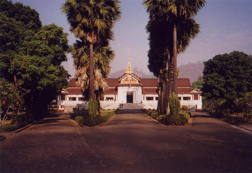 Laos: Luang Prabang Palace Grounds