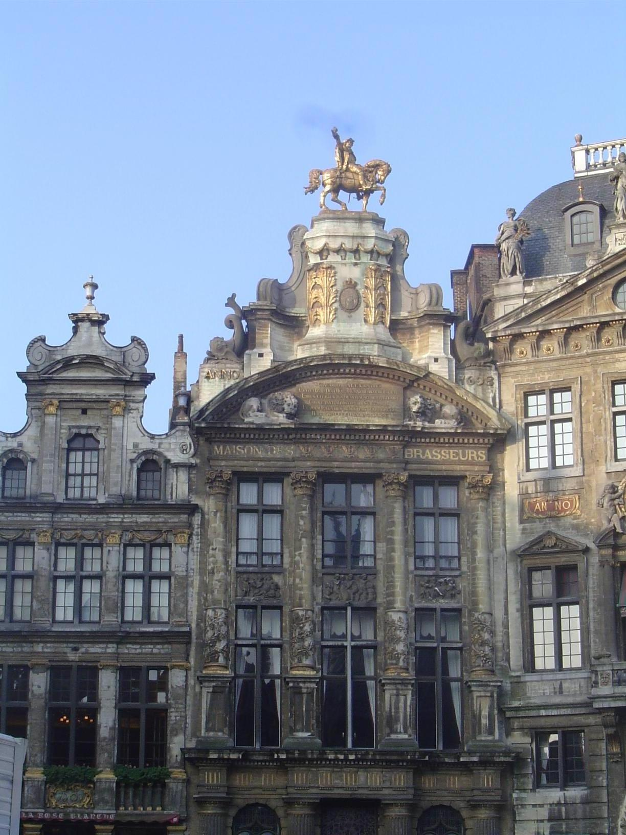 Belgium: Brussels: the Grand Place