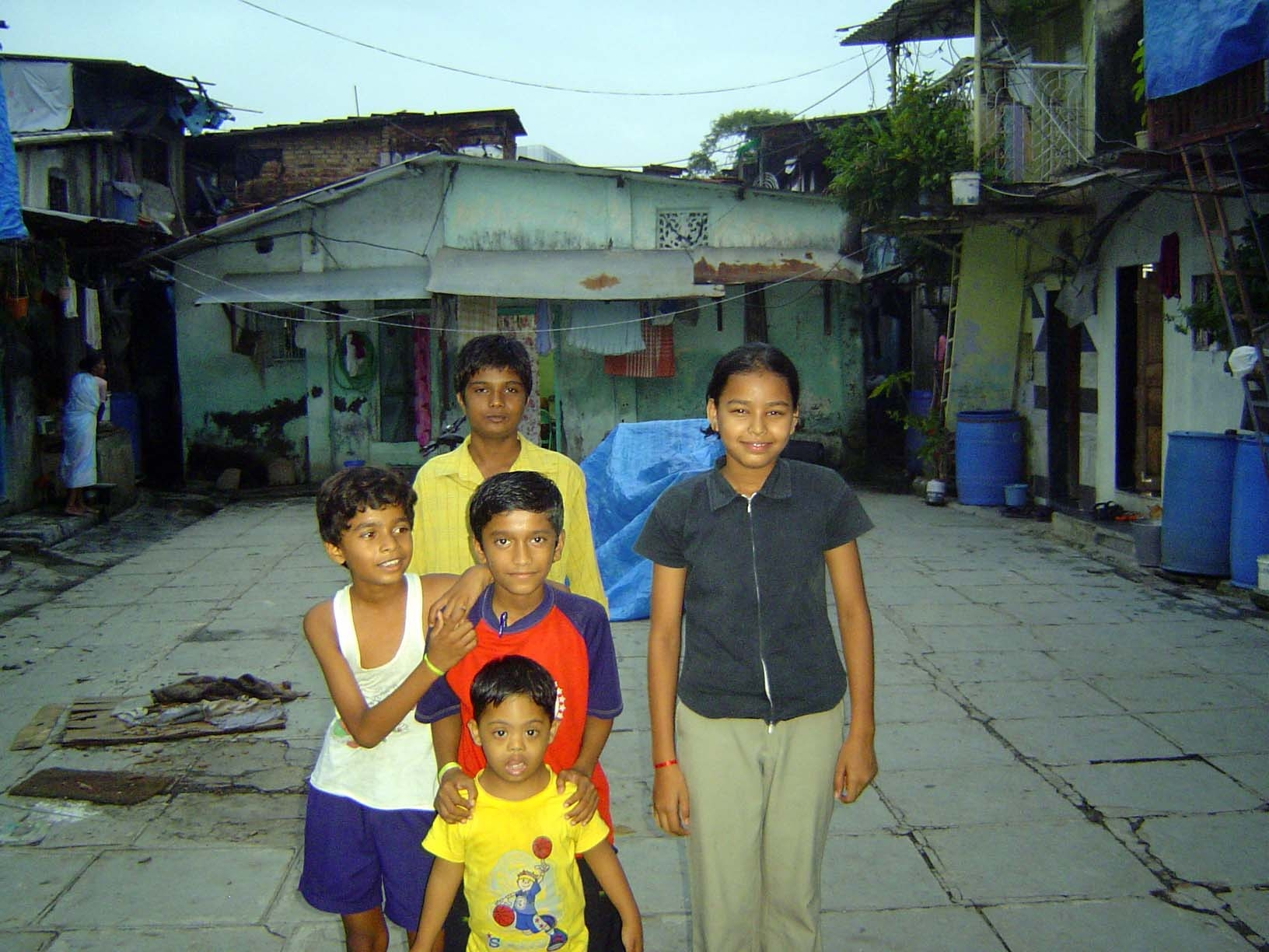 Peninsular India: Mumbai: An Andheri Slum
