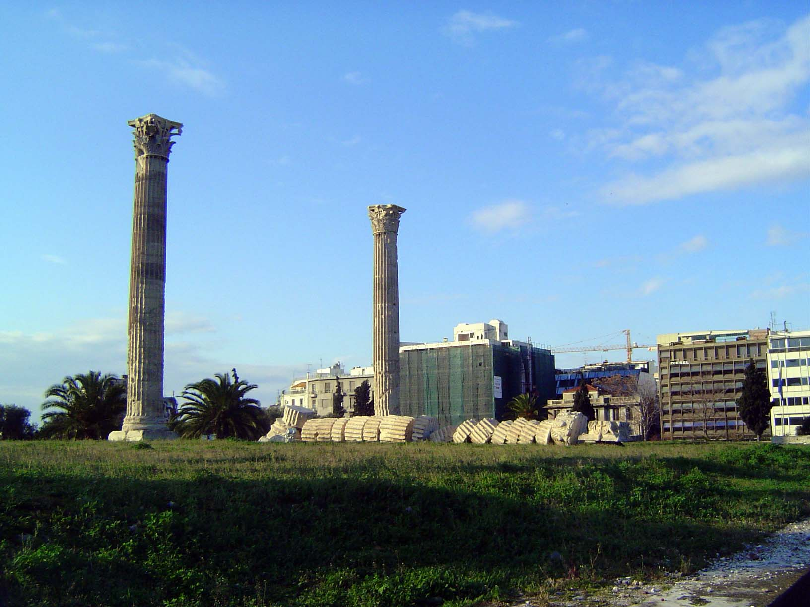 Greece: Theaters and the Temple of Olympian Zeus