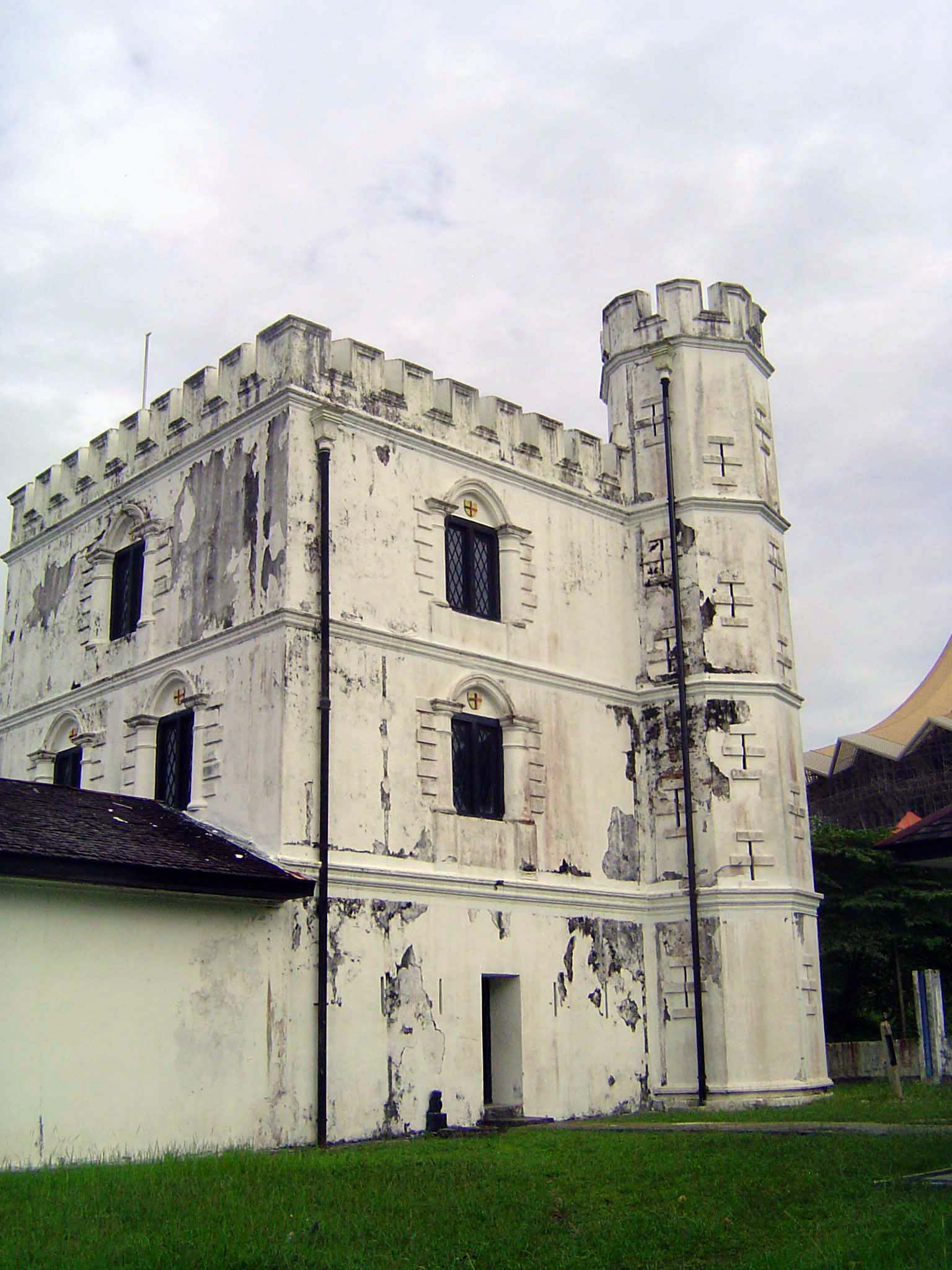 Malaysia: Kuching: Colonial Government Buildings